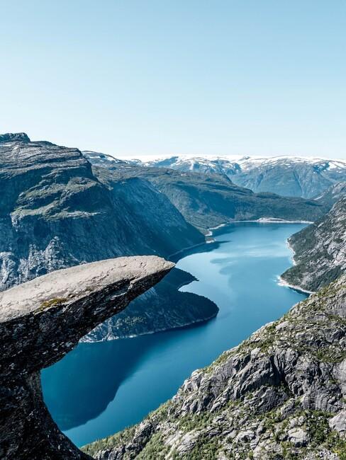 Trolltunga in Noorwegen
