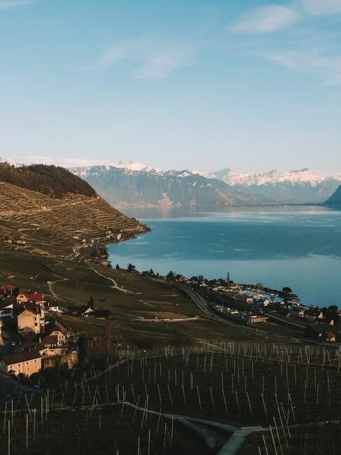 Lavaux in Zwitserland