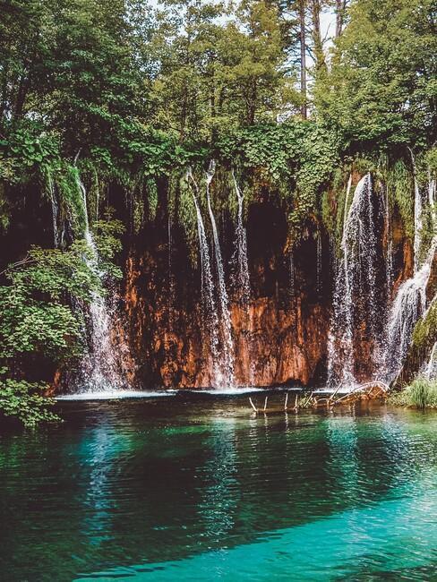 De Plitvice meren in Kroatië