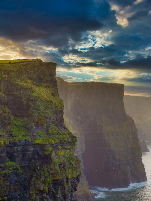 De kliffen van Moher in Ierland