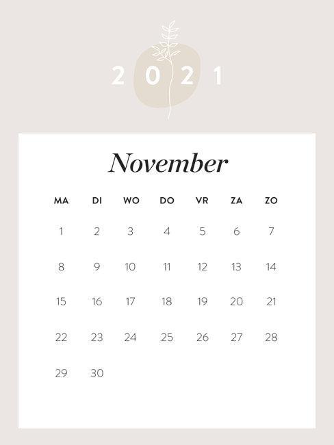 westwing kalender november 2021