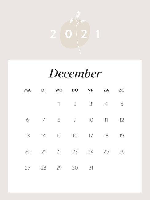 westwing kalender december 2021