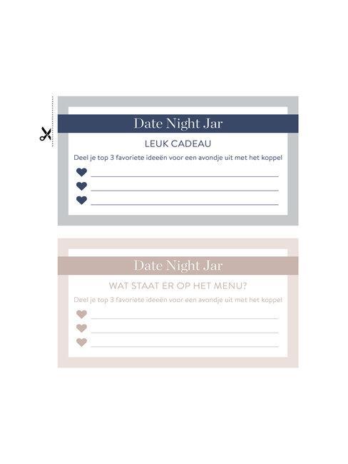 date night jar: top 3 date ideeën