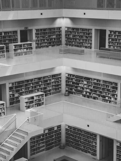 witte bibliotheek