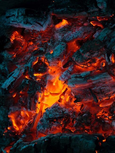 kolen die branden