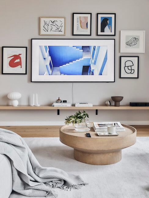 tv met kabel
