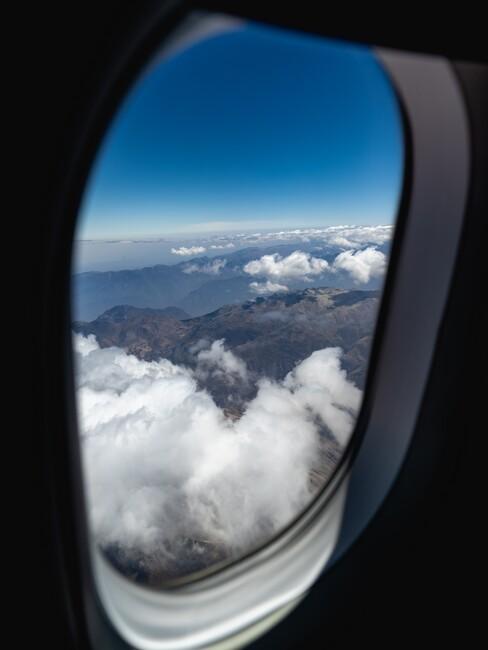 vliegtuig raam