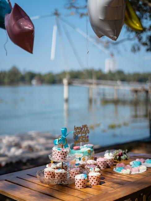 babyshower organiseren aan het water