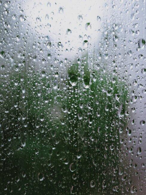 vocht op raam