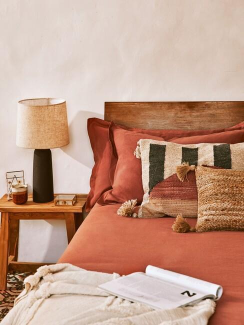 slaapkamer in mediterraanse stijl