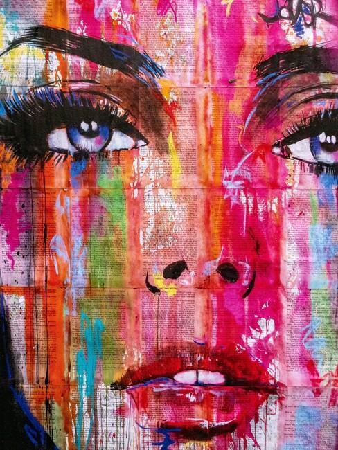 pop art schilderij