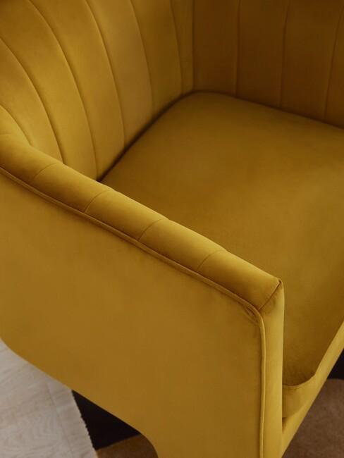 okergele fauteuil