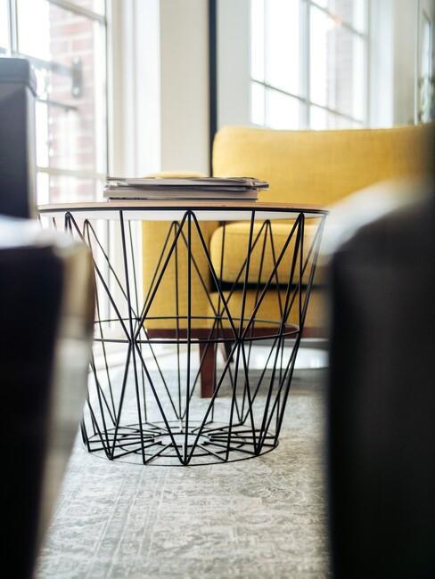 geometrische vormen in interieur