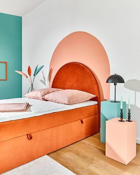 memphis design slaapkamer