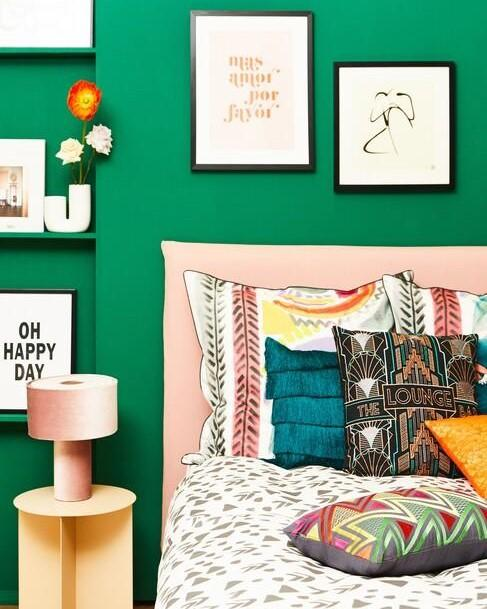memphis design in slaapkamer