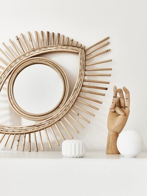 spiegel in art deco stijl