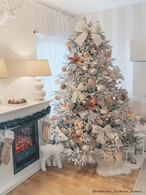 kerstboom in funky stijl