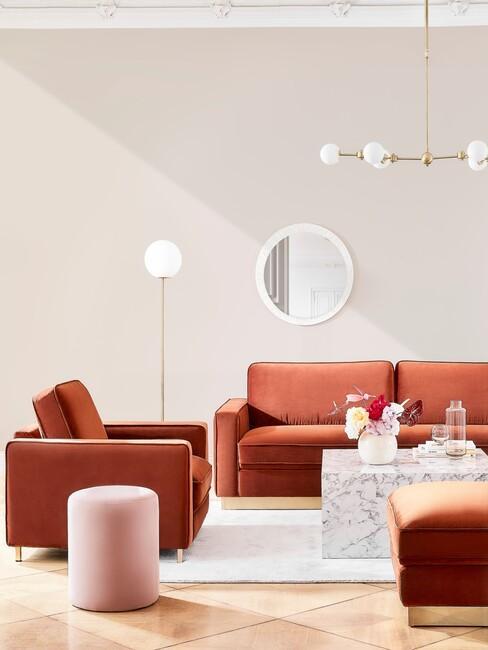 natuurlijke kleuren in een purisme woonkamer