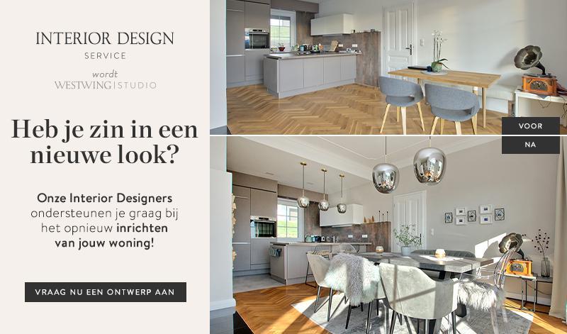Interieur design service van westwing biedt 3-d renders aan