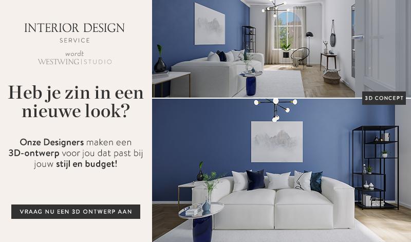 Westwing's interieur design service richt jouw huis in