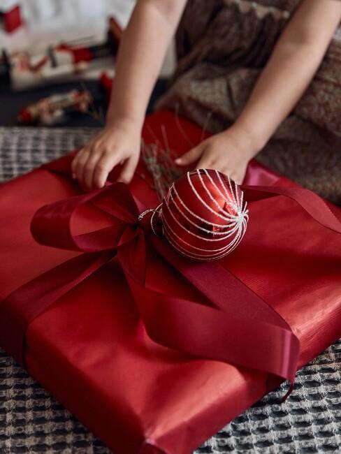 ideeen voor het inpakken met kerst