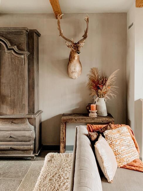 warm interieur
