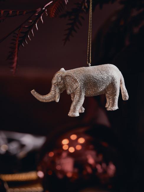 olifant kerst ornament