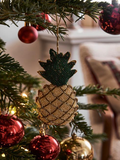 kerstornament ananas