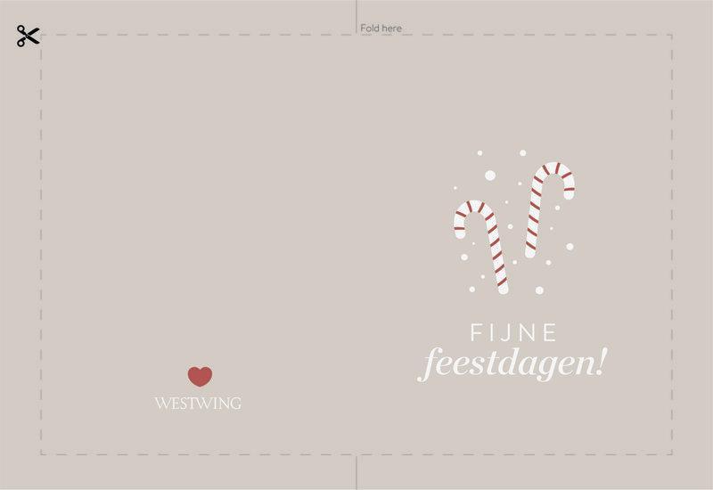 westwing fijne feestdagen kaart