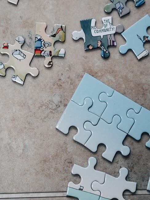 cadeau voor oma: een puzzel