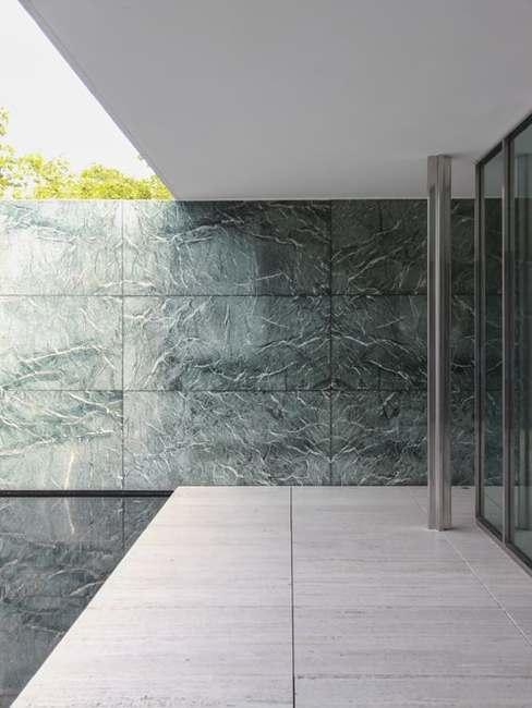 Budynek projektu Miesa van der Rohe