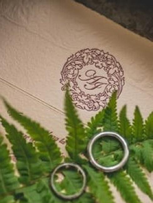 Zaproszenie ślubne w stylu rustykalnym