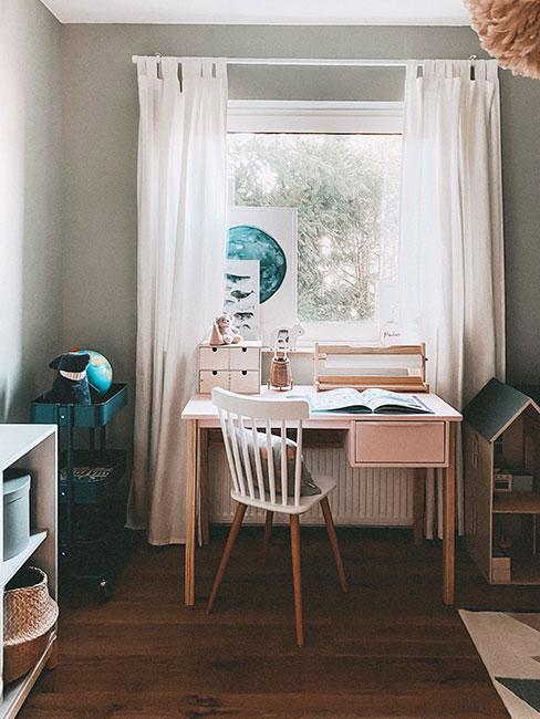 Biurko w pokoju dla dziecka