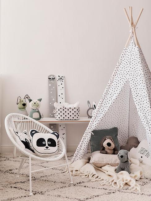 Pokój dla dziecka z tipi