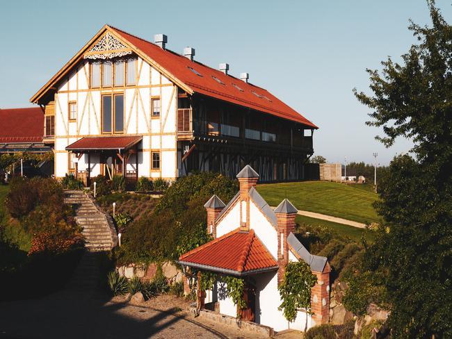 Budynki Winnicy II w Hotelu Głęboczek