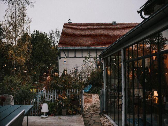Budynek lokalizacji weselnej Polna Zdrój z zewnątrz