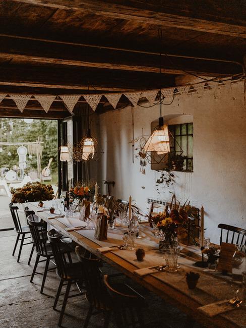 Sala weselna w stylu rustykalnym w Kotulinskiego 6
