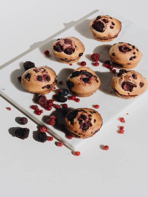 Muffinki z borówkami jako przepis na zimowe śniadanie