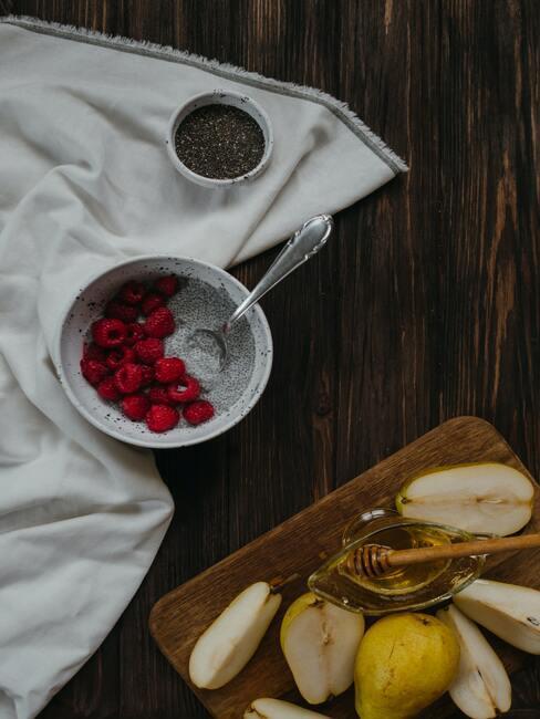 Owocowy pudding z nasionami chia