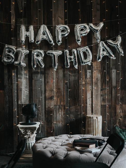 Urodziny w stylu boho z dekoracjami