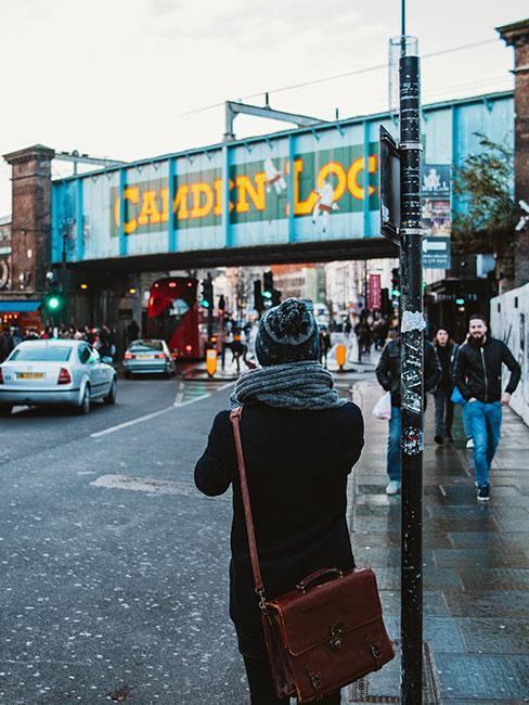 Most Camden Lock w Londynie