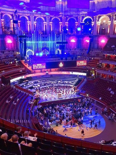 Koncert BBC Proms w londyńskiej hali Royal Albert Hall