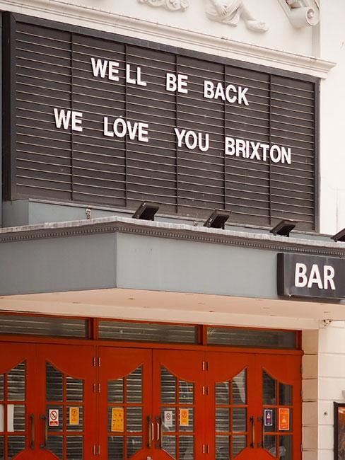 Wejście do Brixton Academy w Londynie