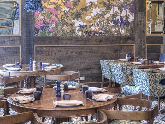 Wnętrze restauracji Chez Coco