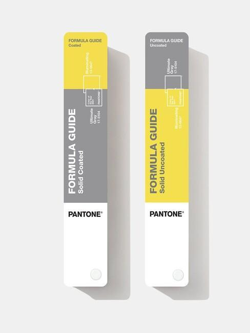 Próbki kolrów roku 2021 według Pantone: żółty i szary