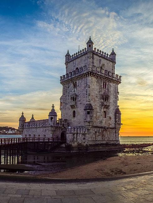 Wieża Torre de Belem w Lizbonie