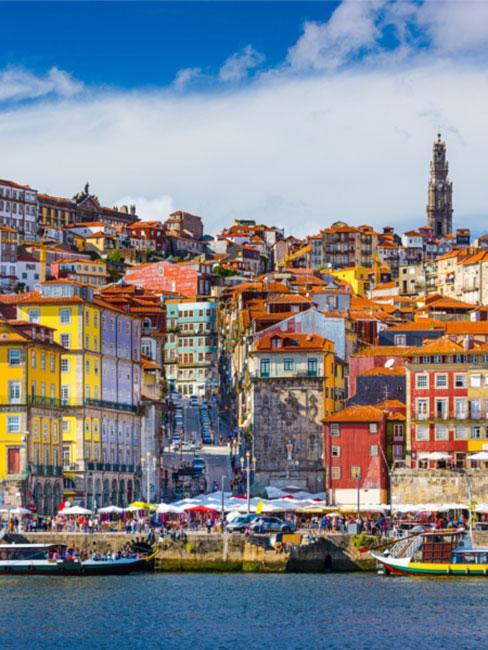 Port w Porto w Portugalii