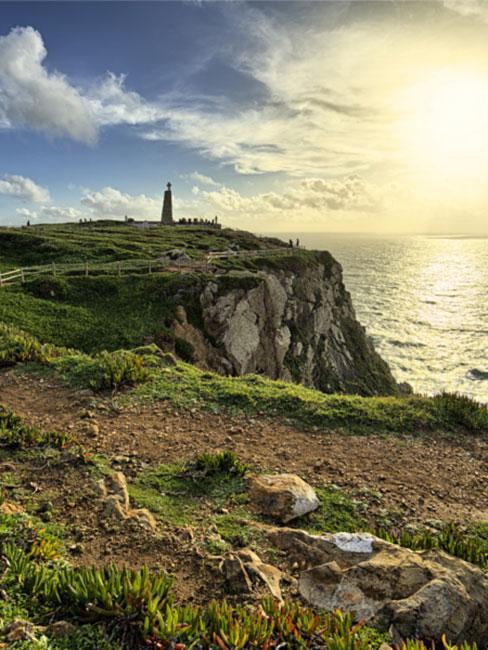 Cabo da Roca w Sintrze w Portugalii