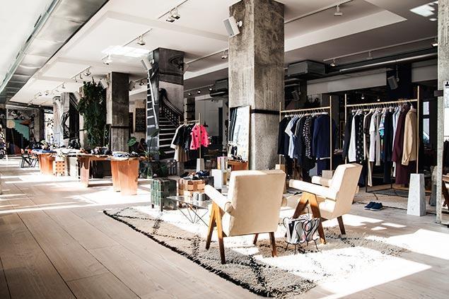 Wnętrze w The Store w Berlinie