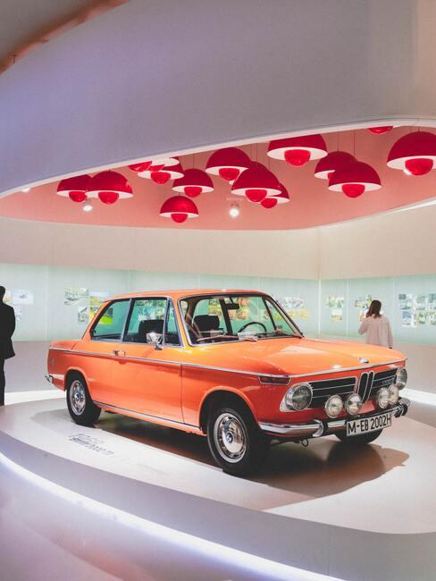 Fragment ekspozycji w Muzeum BMW